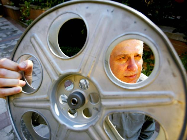 Director Errol Morris first collaborated with composer Philip Glass on the 1988 documentary <em>The Thin Blue Line</em>.