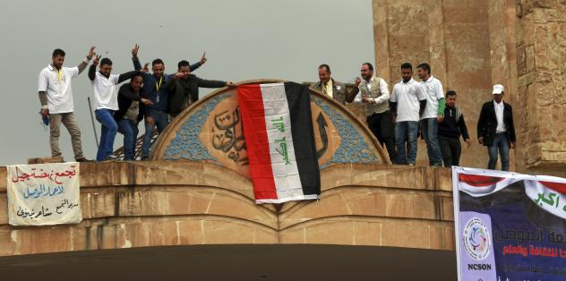 Iraqi government forces now control Mosul's Grand Mosque in the eastern part of the city. The Islamic State leader, Abu Bakr al-Baghdadi, declared the group's caliphate in a sermon at the mosque in July of 2014, shortly after ISIS captured the city.