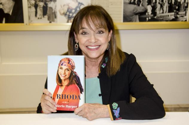 "In her memoir, <em>I, Rhoda</em>, Harper (pictured here in 2013) writes that she was ""determined to define [Rhoda's] style"" and help soften her sharp edge."