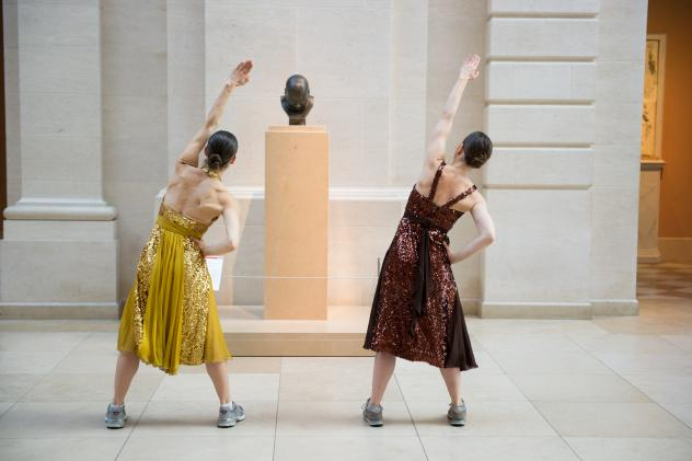 Monica Bill Barnes (left) and Anna Bass are offering literally breathtaking tours of the Metropolitan Museum of Art in New York City.