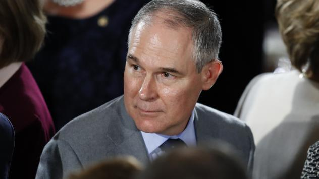 Days before this week's Alaska Forum on the Environment, the EPA said it was sending half of the people who had planned to attend. The nomination of Oklahoma Attorney General Scott Pruitt, President Trump's pick to head the EPA, is still pending confirma