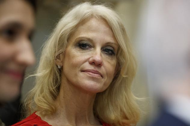 The government ethics office says it has reason to believe disciplinary action is warranted against senior Trump adviser Kellyanne Conway for inappropriate comments on TV.