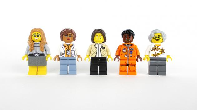 <em></em>NASA astronauts Sally Ride and Mae Jemison will be featured in the new Lego set.