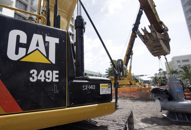 Caterpillar, which manufactures and sells construction equipment and machinery, was subject to a federal search warrant Thursday in Illinois.