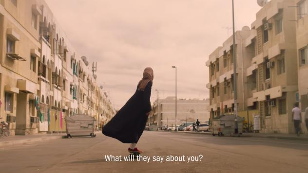 "In an ad targeting female athletes in the Middle East, Nike asks ""What will they say about you?"""