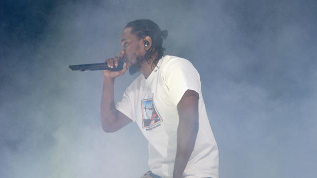 "Kendrick Lamar performs in Brooklyn in December 2016. On Thursday night, Lamar released a new song, ""The Heart Part 4,"" that seems to preview a new album by Lamar, to be released on April 7."