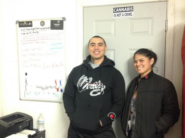 Malcolm Mirage and sister Nina Parks operate the cannabis business Mirage Medicinal in San Francisco.