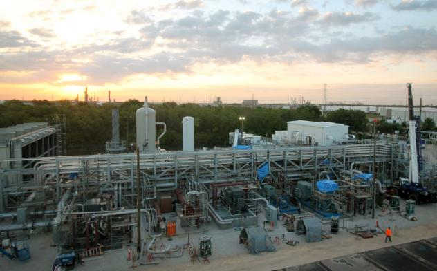 Most of the carbon dioxide the plant generates will be redirected to drive the turbine.