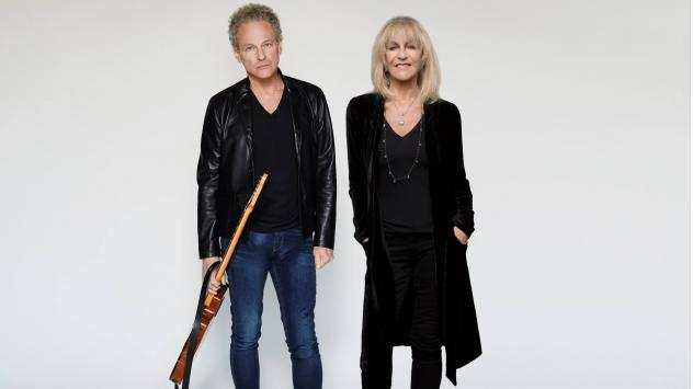 Lindsey Buckingham and Christine McVie's new album, <em>Lindsey Buckingham/Christine McVie</em>, comes out June 9.