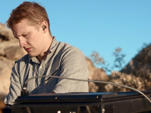 Floating Points, in a still from <em>Reflections — Mojave Desert</em>.