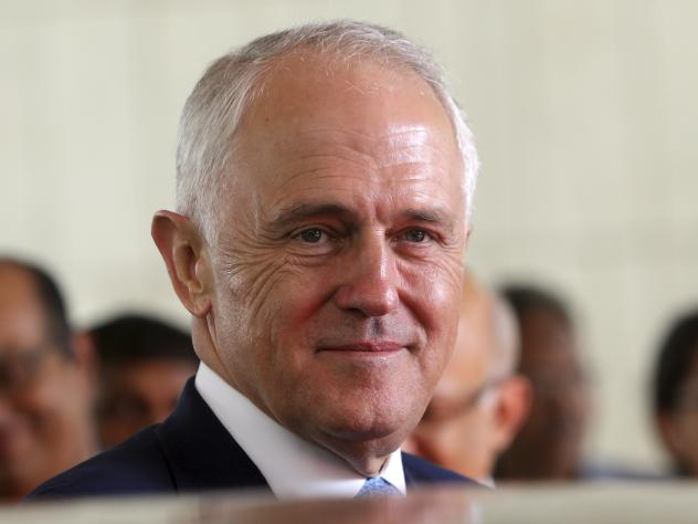 Australian Prime Minister Malcolm Turnbull earlier this month. He is proposing tougher requirements for citizenship.