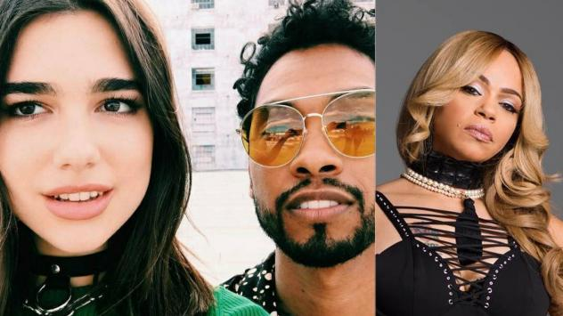 Lots of singles came out today, including (left to right) Dua Lipa and Miguel, and Faith Evans.