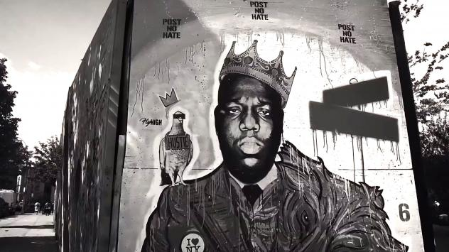 A still from Spike Lee's promotional video announcing the Grammy Awards' return to New York City, the first time they'll be held there since 2003.