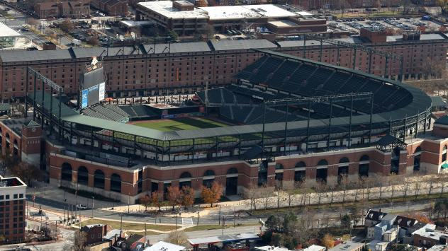 The Baltimore Orioles' park at Camden Yards was mistakenly included in a tax sale, city officials say.