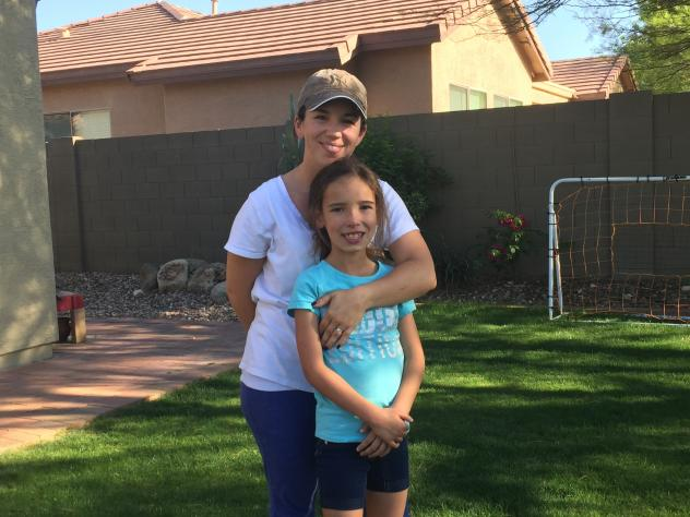 Corinne Bobbie says she is grateful that the Affordable Care Act guaranteed health insurance for her 8-year-old daughter, Sophia, who was born with a heart condition. But Corinne and her husband still can't afford coverage for the rest of the family.