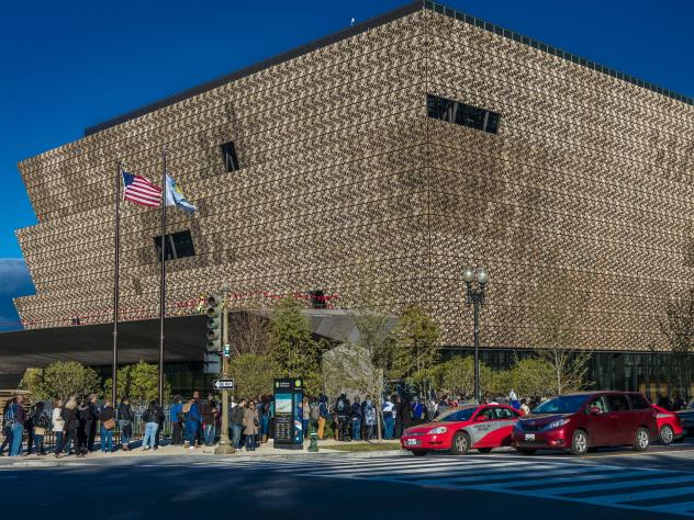 A section of the National Museum of African American History and Culture in Washington, D.C., was closed for several hours Wednesday after a noose was discovered in an exhibition.