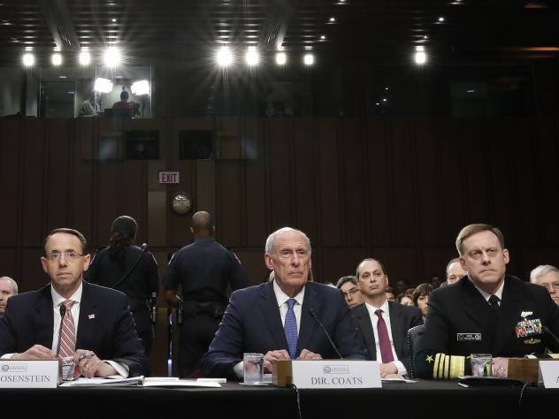 US intelligence chiefs decline to discuss Trump contacts