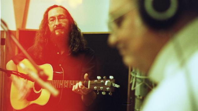 Psychic Temple's Chris Schlarb with Terry Reid.
