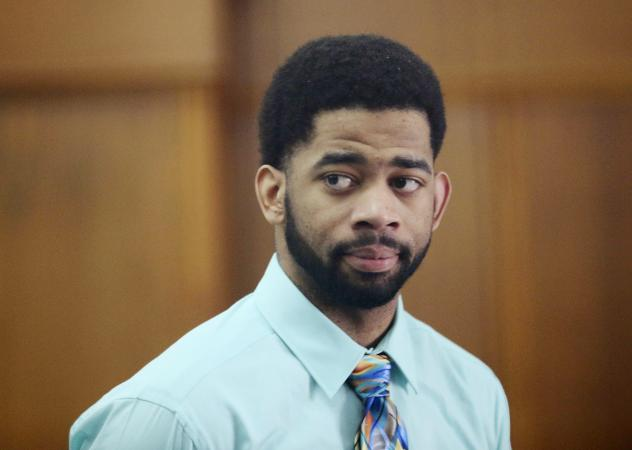 Former Milwaukee police Officer Dominique Heaggan-Brown appears in Milwaukee County Court on Tuesday.