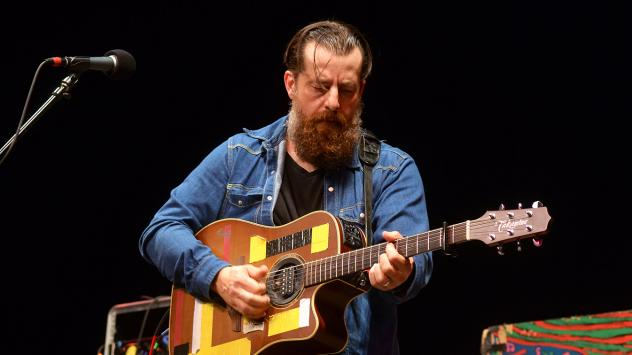 Sean Rowe performs on <em>Mountain Stage</em>.