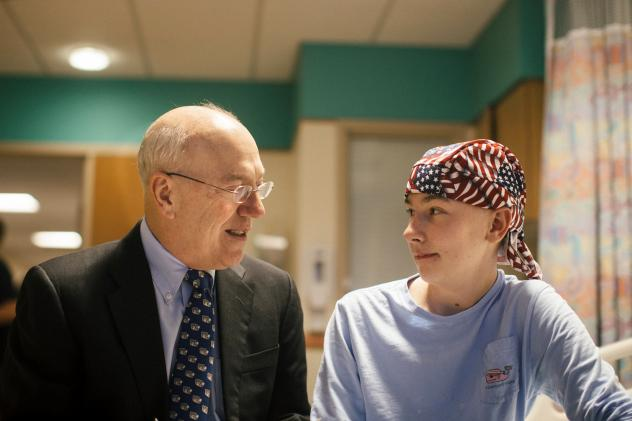 Before becoming president and CEO of Children's National, Newman was a surgeon at the hospital.