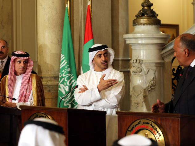 Arab foreign ministers held a joint press conference in Cairo on Wednesday and announced they will continue their blockade of Qatar until it gives in to their demands.