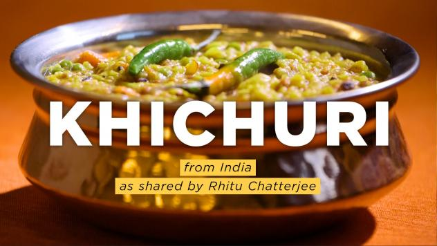 NPR food editor Rhitu Chatterjee makes khichuri.
