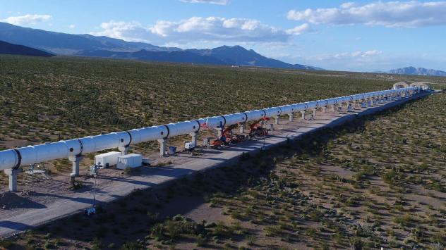 The project recently passed a full systems test on the 500-meter Hyperloop One track in Nevada.