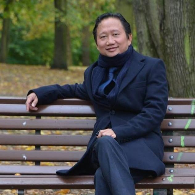 An undated photo of Vietnamese national Trinh Xuan Thanh sitting on a park bench in Berlin. Thanh disappeared last month and resurfaced days later in Vietnam, where he had an outstanding warrant.