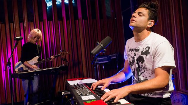 Lo Moon live in the studio for KCRW