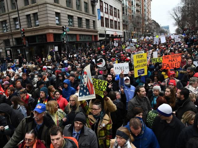 The Department of Justice has issued a warrant for a web hosting company to turn over all records related to the website of #DisruptJ20, a group that organized actions to disrupt President Trump's inauguration in January.