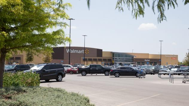 Dozens of people were found to have been smuggled into the U.S. in a tractor trailer that was parked at this Walmart in San Antonio, Texas.