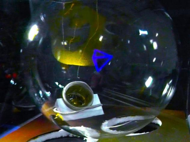 Researchers at the University of Rochester unveiled a system that uses laser projection to generate 3-D holograms.