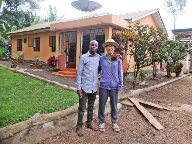 Ndosi expanded his homestay business by building three dwellings in his backyard.