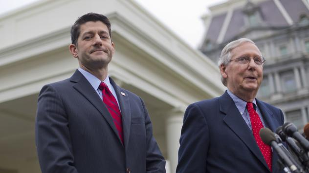 House Speaker Paul Ryan (left) and Senate Majority Leader Mitch McConnell will have a packed schedule when Congress returns this week.