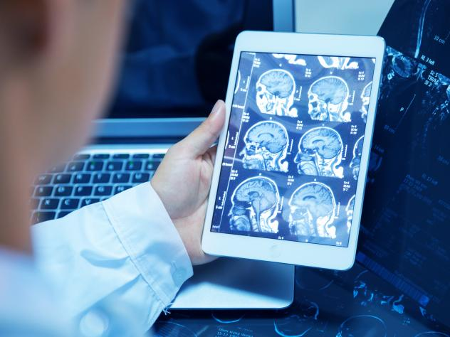 Radiologist John Mongan is researching ways to use artificial intelligence in radiology.