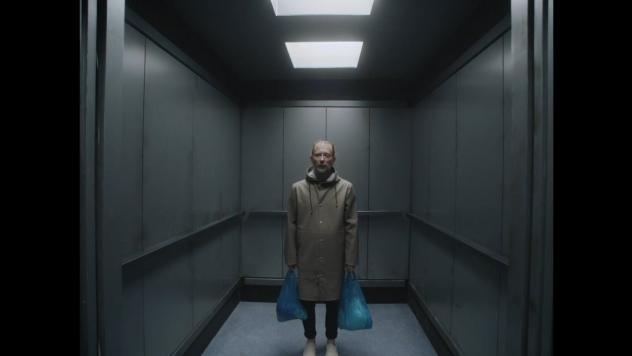 "A still from Radiohead's ""Lift"" video."