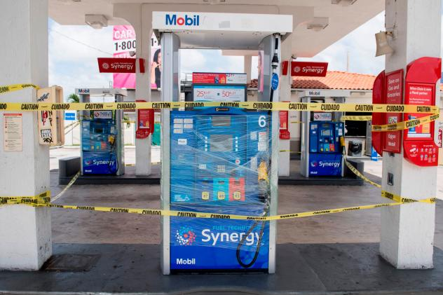With Power Out, Many Florida Gas Stations Remain Closed