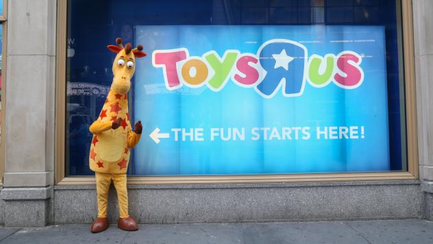 The Toys R Us Times Square Holiday Shop held its grand opening last month in New York City. The largest U.S. toy store chain filed for bankruptcy protection late Monday, but most stores are operating as usual.