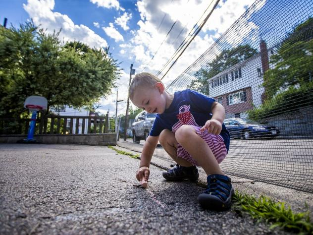 Two-year-old Robbie Klein of West Roxbury, Mass., has hemophilia, a medical condition that interferes with his blood's ability to clot normally. His parents, both teachers, worry that his condition could make it hard for them to get insurance to cover hi