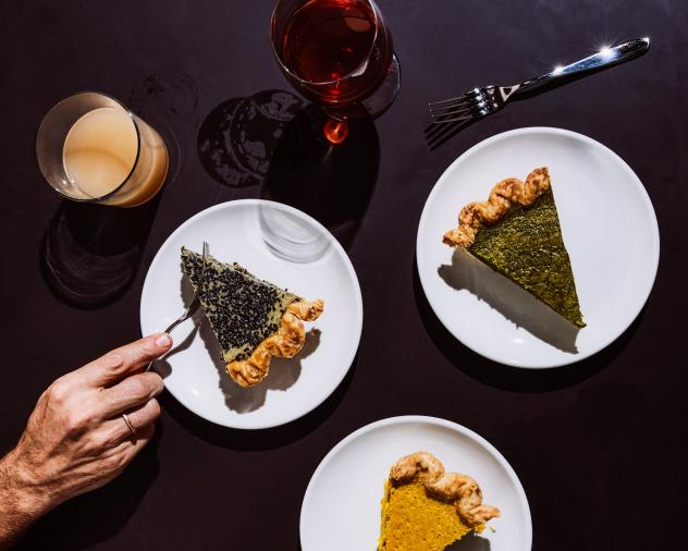 """""""Sharing food that is familiar and handmade,"""" Emily Elsen of Four & Twenty Blackbirds says, """"reminds us to be thankful for the blessings we do have."""""""