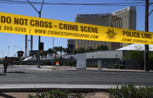 Las Vegas shooting was 'domestic terrorism', says husband of Gabby Giffords
