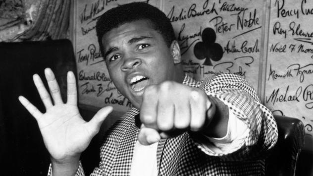 On May 27, 1963, Ali (known then as Cassius Clay) held up five fingers in a prediction of how many rounds it would take him to win against British boxer Henry Cooper. In June 1963, he fulfilled his prediction and was declared the bout winner after five r