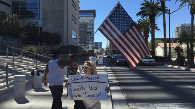 Carol Bundy, wife of jailed Nevada rancher Cliven Bundy, maintains her husband is a political prisoner and did nothing wrong.