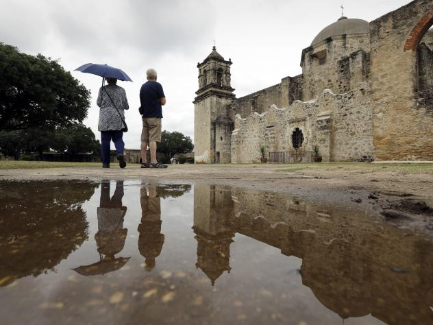 """Mission San Jose, one of five missions in San Antonio designated by UNESCO as a World Heritage Site. The cultural aid agency has designated more than 1,000 such sites around the world — including more than 20 in the U.S. — to celebrate their """"outstan"""