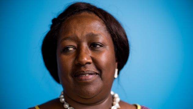 """Dr. Agnes Binagwaho: """"When I was a little mouse, I tried to make as much noise as a lion. When I became stronger, I made less noise because the objective was to change. And sometimes to change, you better study and try to do it without screaming too much"""