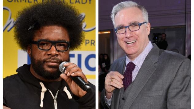 """""""How is [Keith] Olbermann on my side of the fence (politics) but not on my side (hip hop)?"""" The Roots' Questlove pondered before creating his <em>Keith O Challenge </em>crash course."""