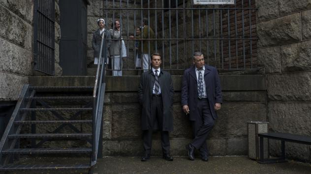 In Netflix's <em>Mindhunter</em>, FBI agents Ford (Jonathan Groff) and Tench (Holt McCallany) study those who would kill your friends and family to remind you of their love.