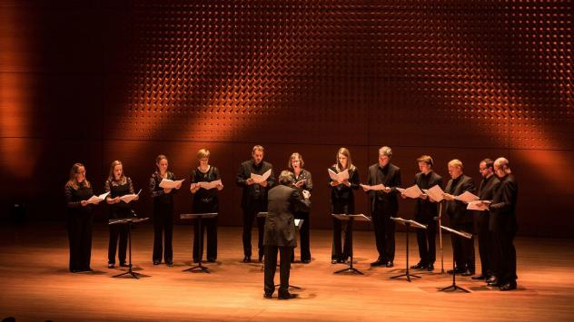 The Netherlands Chamber Choir, one of four choirs who will be performing in Lincoln Center's The Psalms Experience festival.