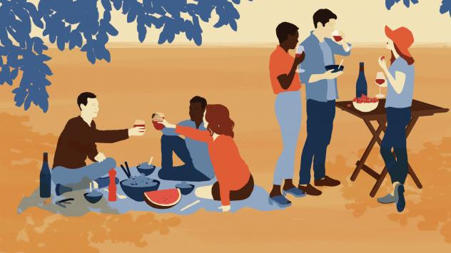 """Author Jon Bonné says that while wine can be confusing, """"Nothing fits easily into the old small categories, so just embrace the chaos."""""""
